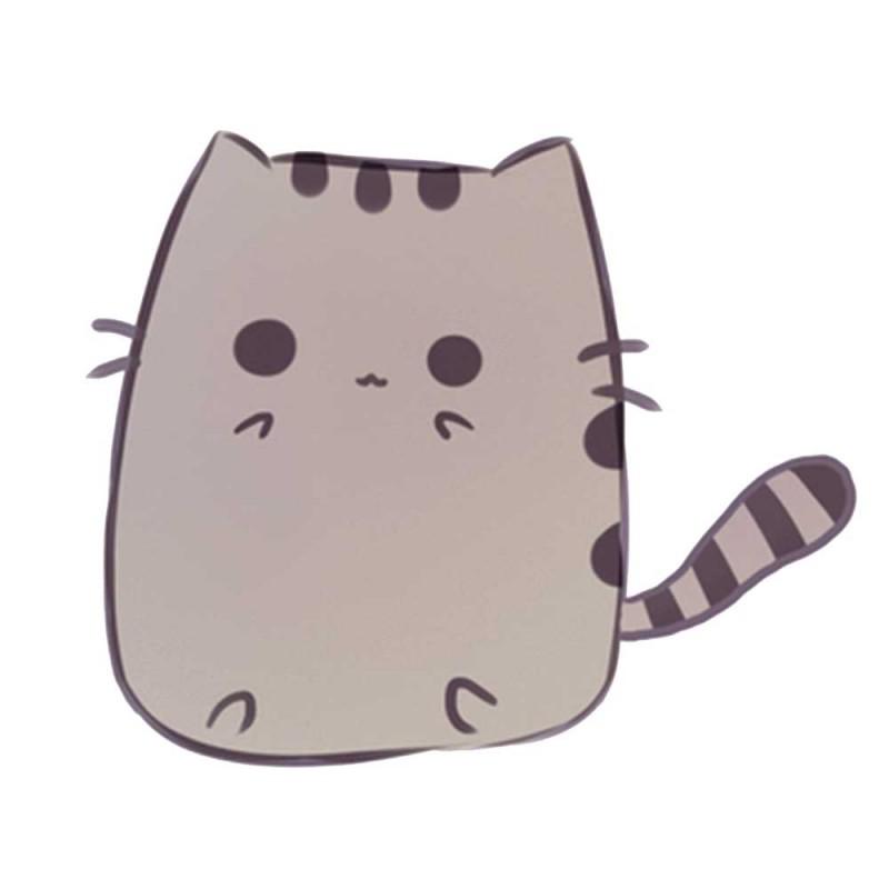 Картинки милых кавайных котиков для срисовки
