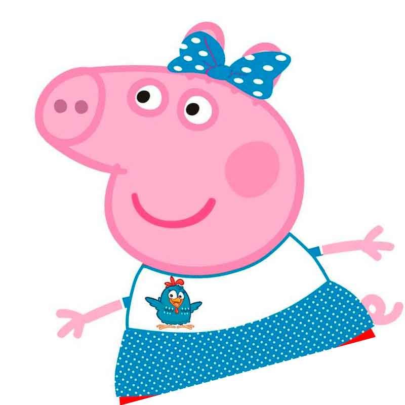 Свинка пеппа фотки для срисовки гангста